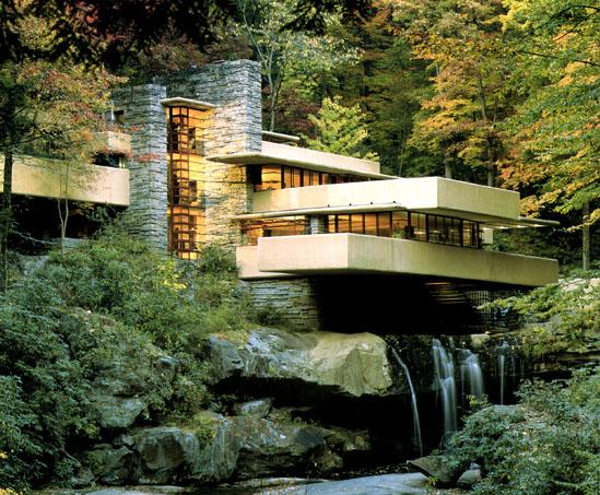 Casa sulla cascata di Frank Lloyd Wright