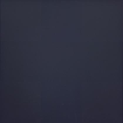 """Ad Reinhardt """"Black Painting"""" (1961) olio su tela cm 152 x 152"""