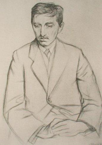 E. M. Forster ritratto da William Rothenstein