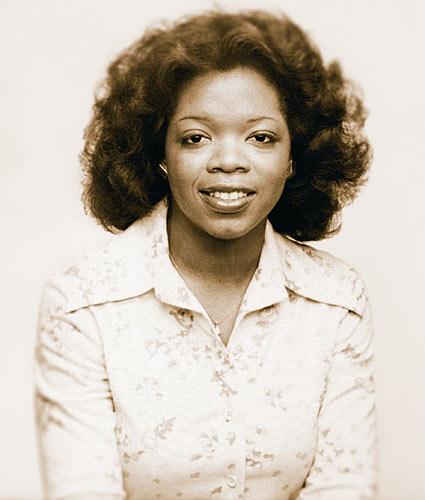 Oprah in una foto del 1976